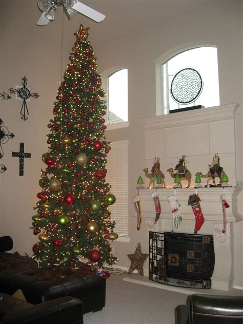 15 feet christmas tree holiday decorating pinterest