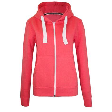Jaket Zipper Hoodie Sweater You Hitam 3 womens plain hoodie fleece sweatshirt hooded coat hoodys zip jacket 8 22 ebay