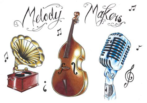 tattoo flash music flash sheet music tattoo pictures to pin on pinterest