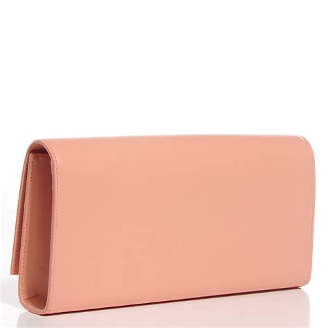 Big Clutch Clutch Initian Nama laurent calfskin classic monogram clutch glossy blush 104416