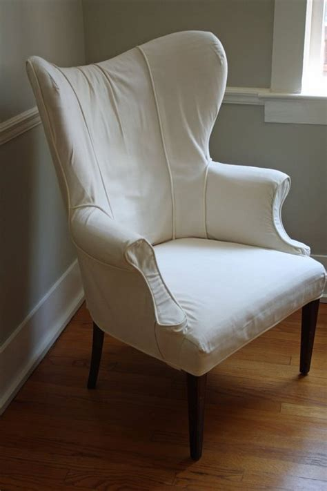 white slipcovers for wingback chairs wingback chair slipcovers white
