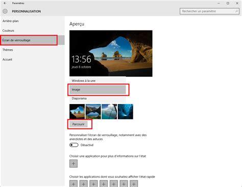 L Changer by Windows 10 Changer L 233 Cran De Verrouillage Screenlocker