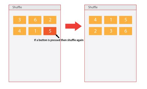 android tutorial onclick android shuffle button position onclick
