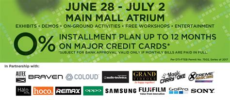 Sm Gift Card 500 Where To Use - sm gadgets fair 2017 discounts freebies 0 installment plans noypigeeks