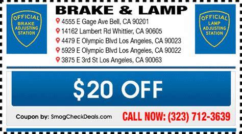 brake and light adjustment certificates brake and light adjustment certificates los angeles