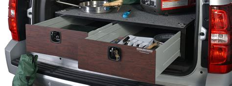 suv secured storage drawer systems
