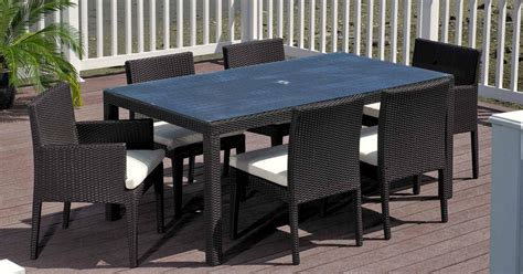 Glass Table Patio Set Modern Glass Top Patio Table And Chairs House Photos