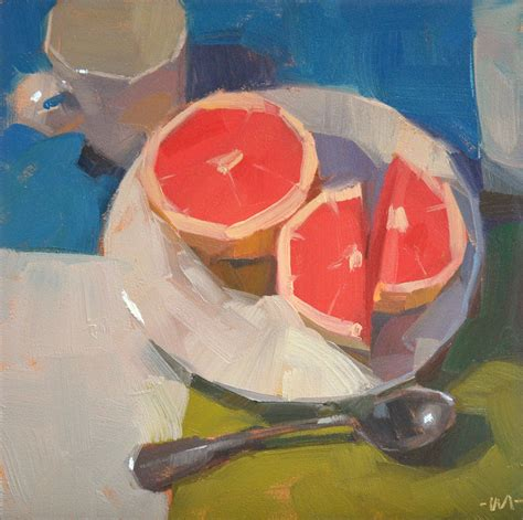 carol marine s painting a day grapefruit diet