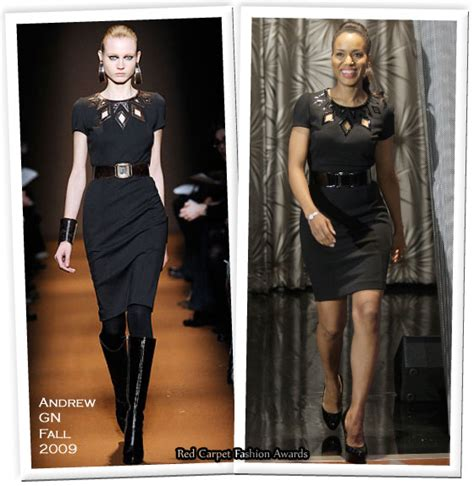 Catwalk To Carpet Kerry Washington In Maison Martin Margiela by Runway To Quot The Tonight Show With Conan O 39 Brien Quot