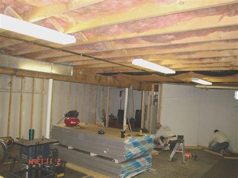 Sound Insulation Basement Ceiling Thymetoembraceherbs Basement Ceiling Insulation Pros And Cons New Basement