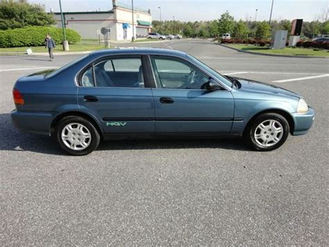 used honda civic cng for sale purchase used 1998 honda civic gx cng ngv gas