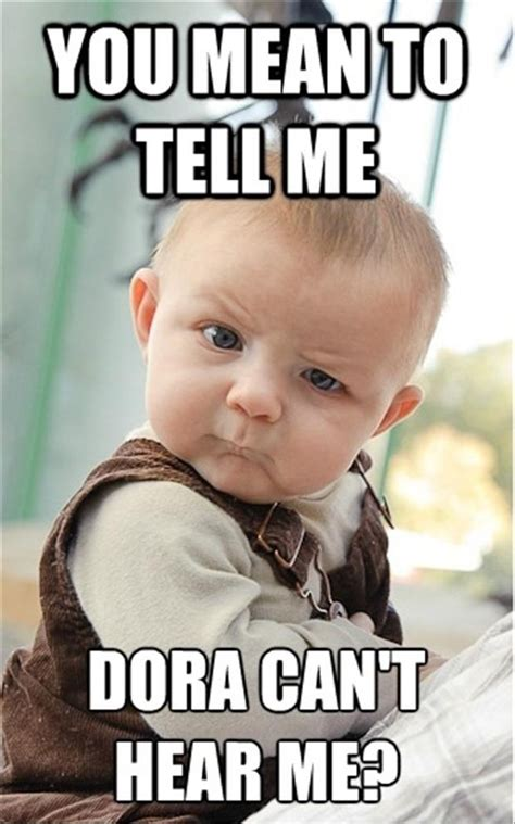 What Does Meme Mean On The Internet - skeptical baby dump a day