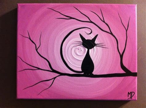 painting ideas canvas 50 easy canvas painting ideas