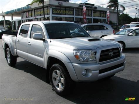 toyota tacoma silver 2008 toyota tacoma v6 prerunner trd sport double cab in