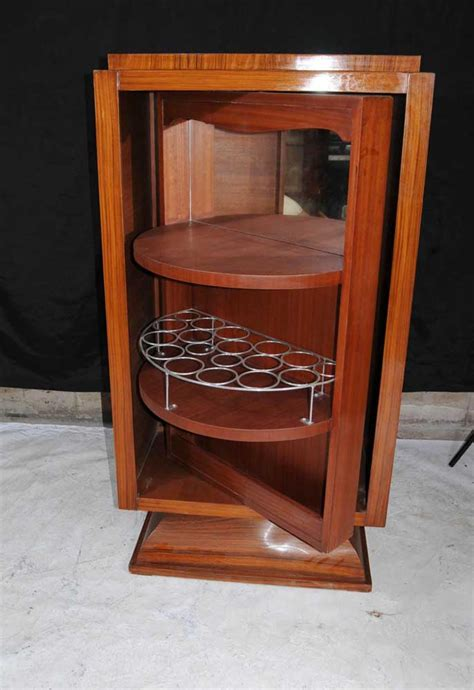 deco drinks cabinet deco cocktail drinks cabinet walnut inlay chest