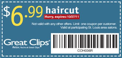 6 99 great clips coupon 2017 2018 best cars reviews