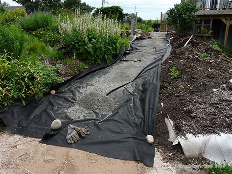 Backyard Landscaping Ideas On A Budget Stone Dust Path Paths And Walkways Landscaping Designs Ideas