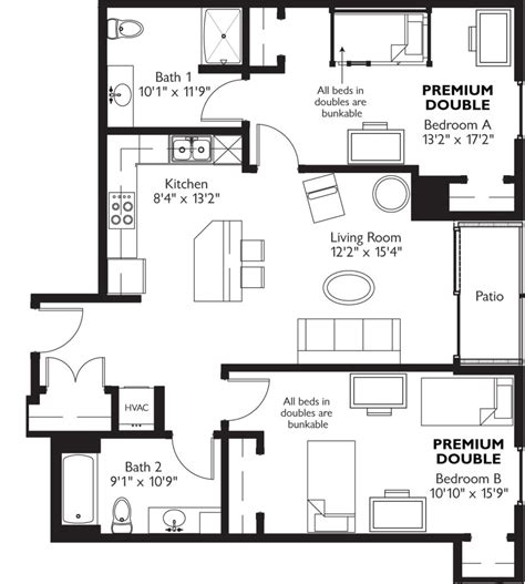 3 bedroom apartments wi springtree apartments 1