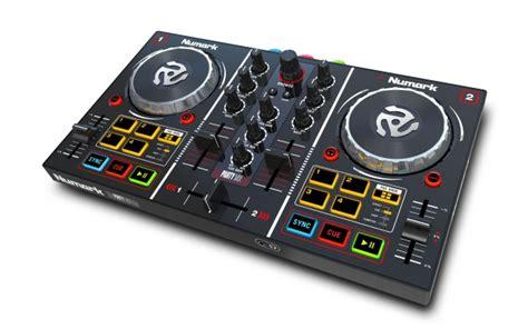 dj console numark mix dj controller with built in light show numark