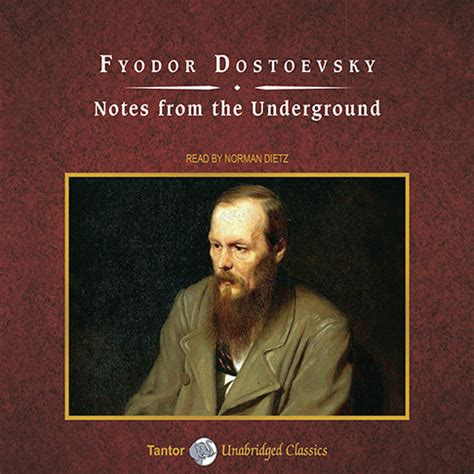 notes from the underground download notes from the underground audiobook by fyodor dostoevsky for just 5 95