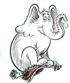 coloring page of horton hatches an egg image horton hatches jpg dr seuss wiki