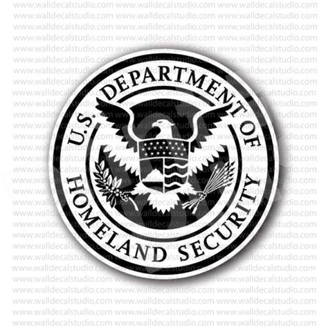 printable security stickers from 4 50 buy department of homeland security sticker at