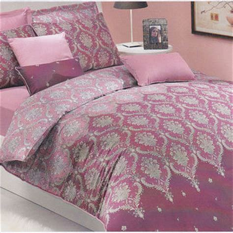 shop pink damask bedding on wanelo