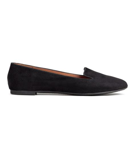 m and s shoes h m loafers in black lyst