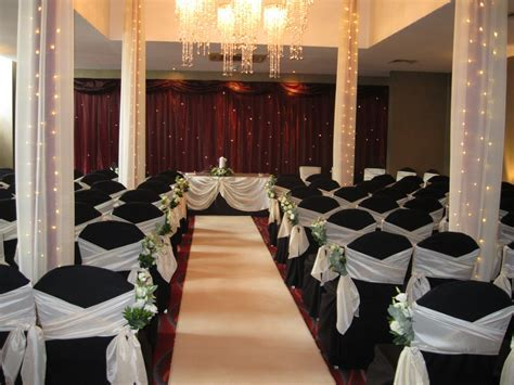 Wedding ceremony decor at Ten Square Hotel Belfast   Ten