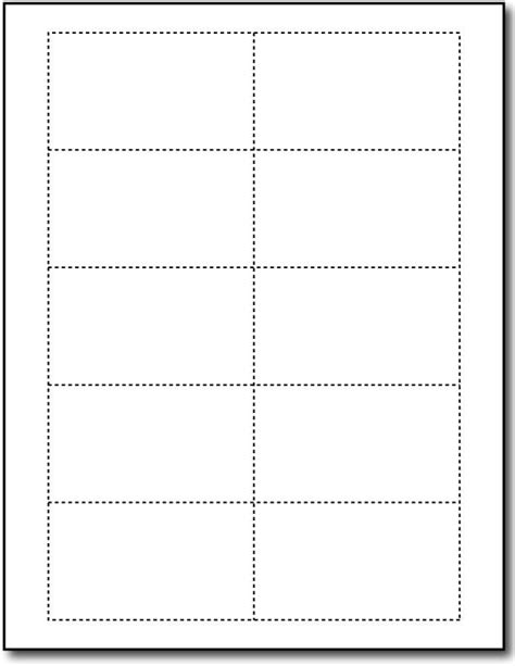 Avery Template Greeting Card 2 On One Page by Avery Note Card Template Template Ideas