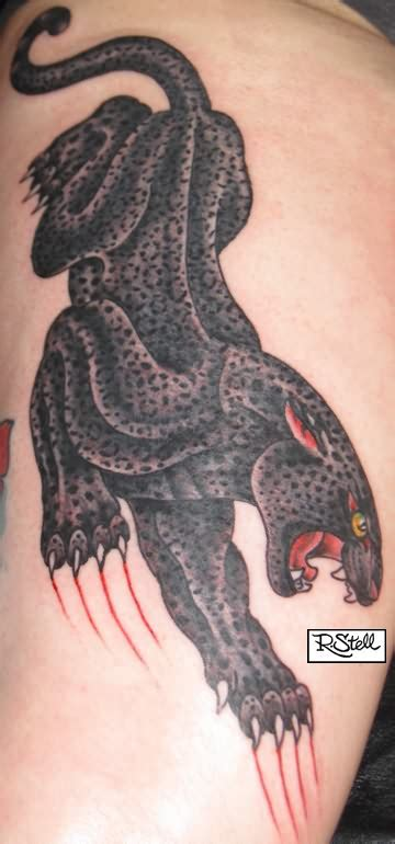 crawling panther tattoo crawling panther