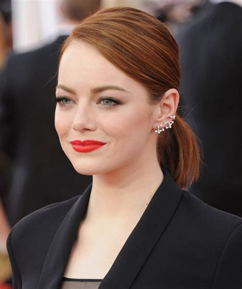 emma stone earnings how to wear statement earrings with style