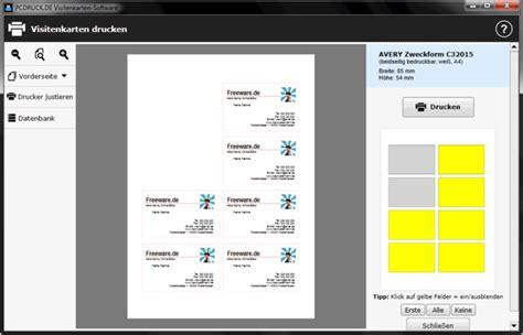 Visitenkarten Programm by Visitenkarten Software Freeware De