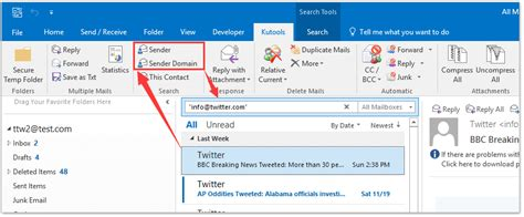 How To Search Email In Outlook 2016 How To Search Email By Date Range Between Two Dates In Outlook