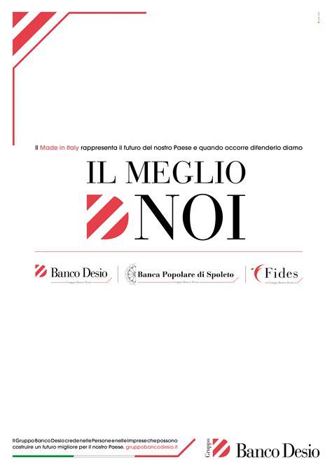 Banca Popolare Di Desio by Cagna Istituzionale Gruppo Banco Desio
