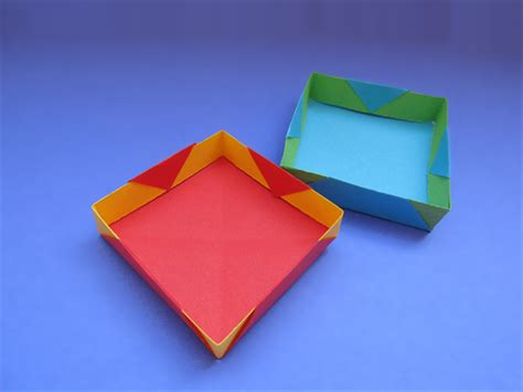 How To Fold A Paper Tray - how to make a paper tray