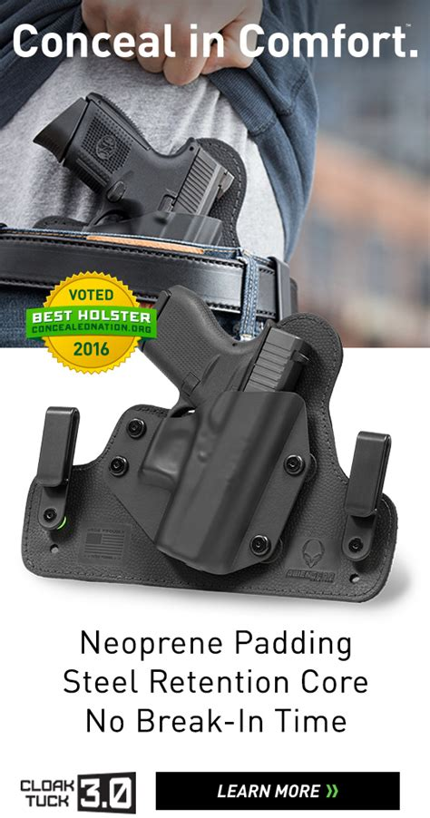 most comfortable ccw holster concealed carry holsters concealment holsters alien