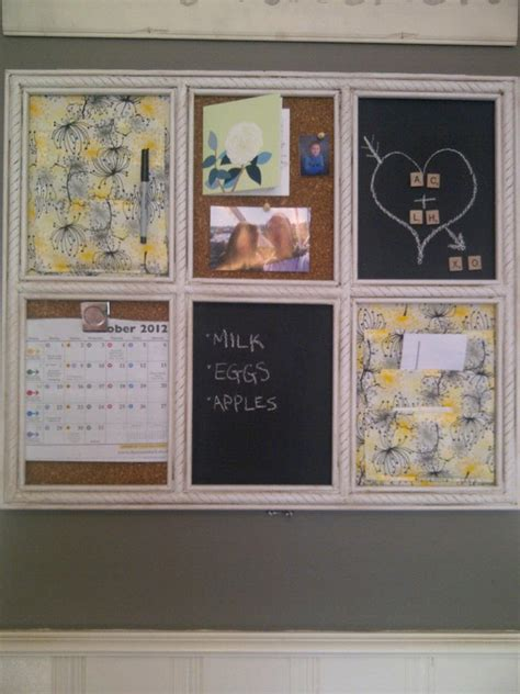 kitchen message board ideas brick home our kitchen message board