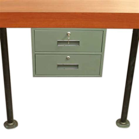 counter desk drawer drawer unit with two drawers and brackets