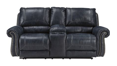 milhaven reclining sofa reviews ashley furniture milhaven navy double reclining console
