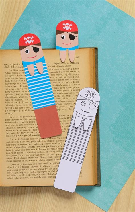 printable bookmark ideas printable pirate bookmarks diy bookmarks easy peasy