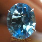 Permata Blue Topaz Blue Oval Besar 91 Brkh Losestone jual perhiasan dan batu permata asli kualitas pilihan