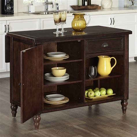 kitchen island with storage and seating home styles grand torino black kitchen island with storage 5012 94 the home depot