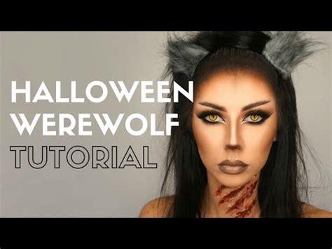 halloween makeup tutorial werewolf halloween werewolf makeup tutorial bella makeup youtube