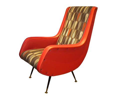 poltrona anni 70 anni 60 arancione italian vintage sofa