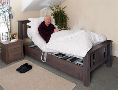 oak adjustable bed   person bespoke adjustable beds