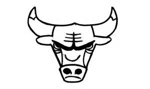 Chicago Bulls Logo Outline by How To Draw The Chicago Bulls Logo Nba