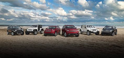 Jeep Line Up Which Current Jeep Model Is Right For You