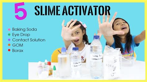 tutorial membuat slime activator 5 slime activator tutorial which one work the best
