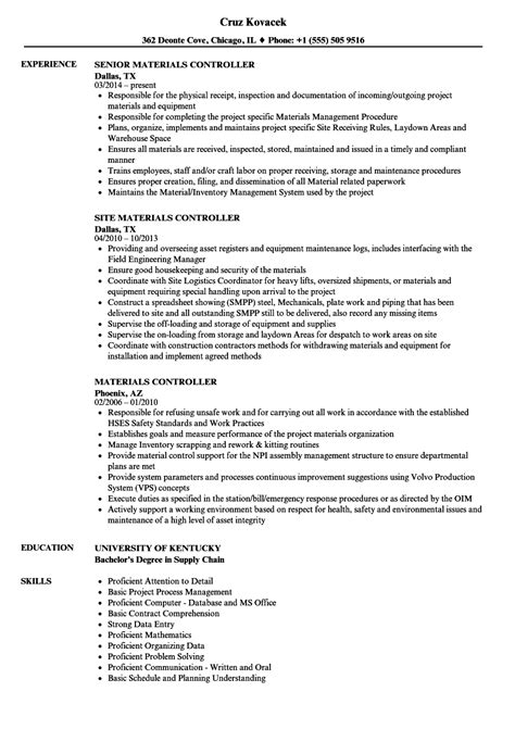 sle resume for document controller document assistant sle resume document